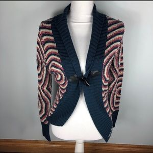 Colorful Small Sweater Knit Desigual Cardigan nqR1wY00